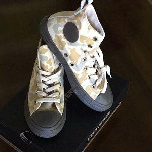 2df9671aba6 Converse Shoes - Boys Converse Chuck Taylor camo hi top sneakers